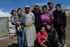 Lived with this nomad family 9 days in Mongolia